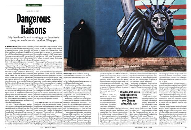 Article Preview: Dangerous liaisons, November 2014 | Maclean's