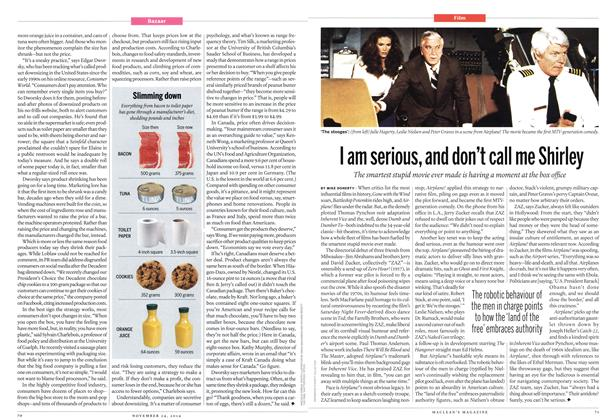 Article Preview: I am serious, and don't call me Shirley, November 2014 | Maclean's