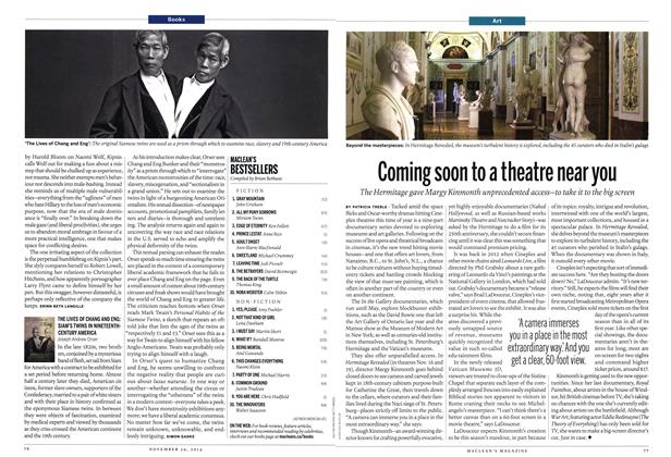 Article Preview: Coming soon to a theatre near you, November 2014 | Maclean's