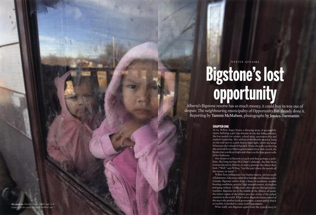 Article Preview: Bigstone's lost opportunity, November 2014 | Maclean's