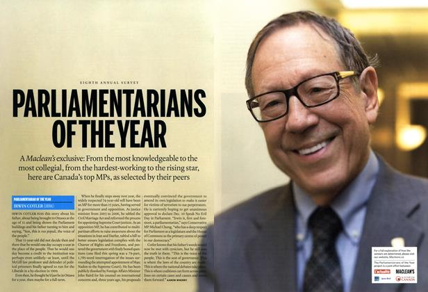 Article Preview: PARLIAMENTARIANS OF THE YEAR, December 2014 | Maclean's