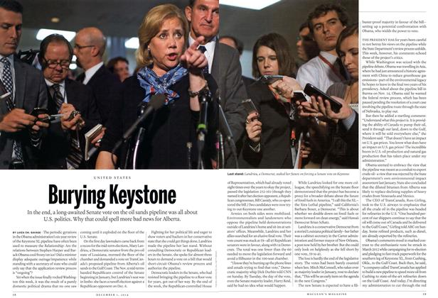 Article Preview: Burying keystone, December 2014 | Maclean's