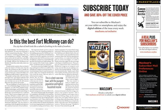 Article Preview: Is this the best Fort McMoney can do?, December 2014 | Maclean's