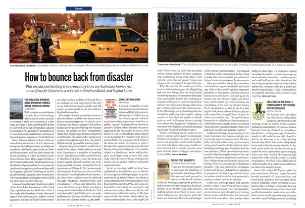 Article Preview: How to bounce back from disaster, December 2014 | Maclean's