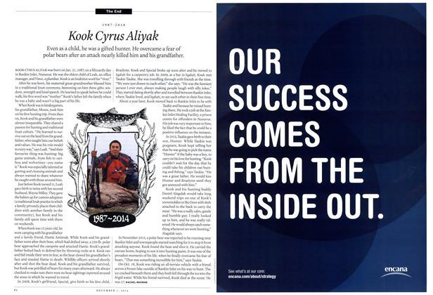 Article Preview: Kook Cyrus Aliyak, December 2014 | Maclean's