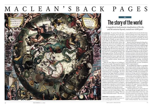 Article Preview: The story of the world, December 2014 | Maclean's