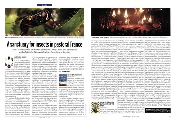 Article Preview: A sanctuary for insects in pastoral France, December 2014 | Maclean's
