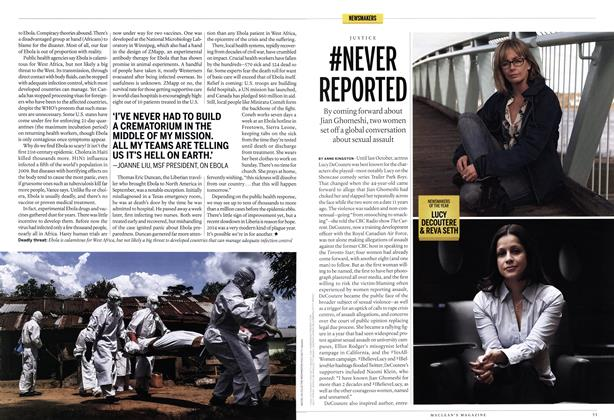 Article Preview: #NEVER REPORTED, December 2014 | Maclean's