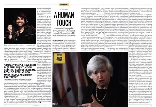 Article Preview: A HUMAN TOUCH, December 2014 | Maclean's