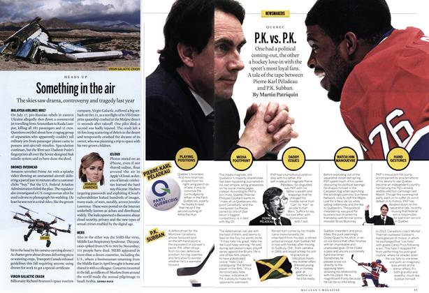 Article Preview: Something in the air, December 2014 | Maclean's