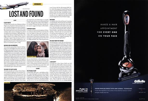 Article Preview: LOST AND FOUND, December 2014 | Maclean's