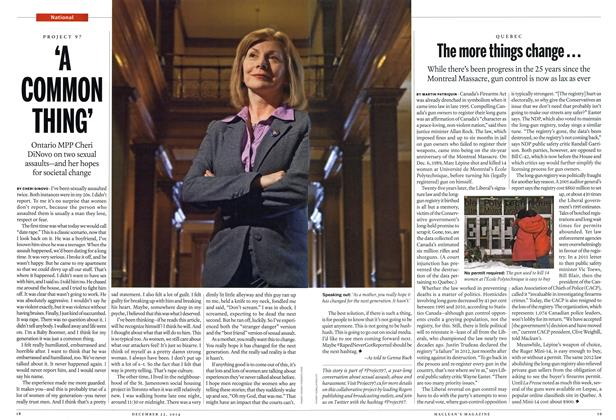 Article Preview: The more things change..., December 2014 | Maclean's