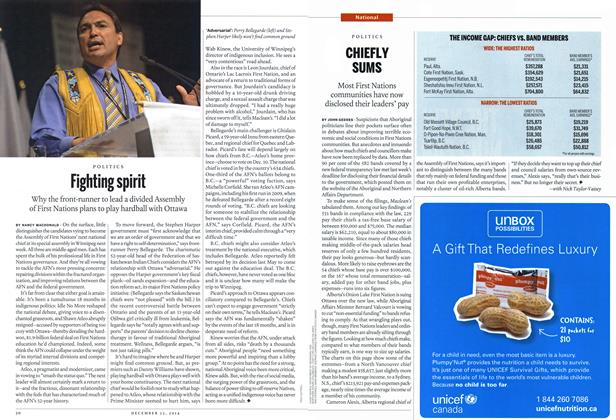 Article Preview: Fighting spirit, December 2014 | Maclean's