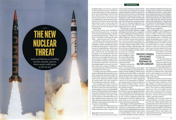 Article Preview: THE NEW NUCLEAR THREAT, December 2014 | Maclean's