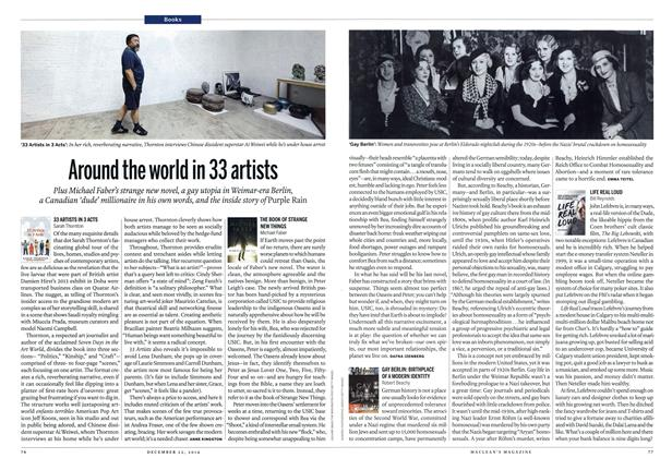Article Preview: Around the world in 33 artists, December 2014 | Maclean's