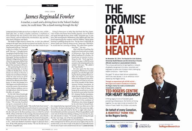Article Preview: James Reginald Fowler, December 2014 | Maclean's