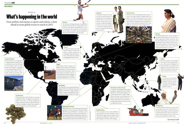 Article Preview: What's happening in the world, January 2014 | Maclean's