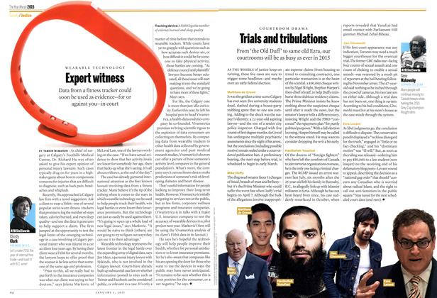 Article Preview: Expert witness, January 2014 | Maclean's