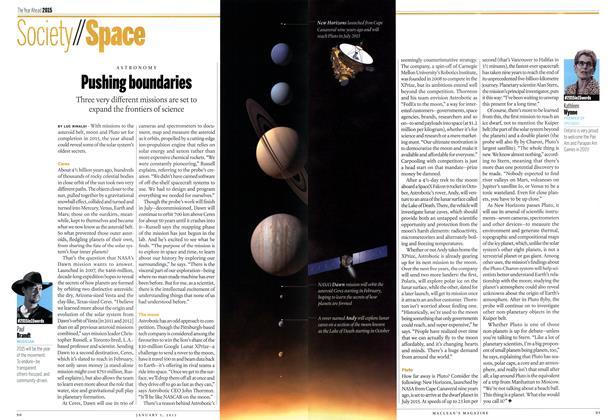 Article Preview: Pushing boundaries, January 2014 | Maclean's