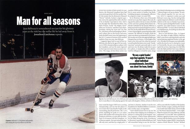 Article Preview: Man for all seasons, January 2014 | Maclean's