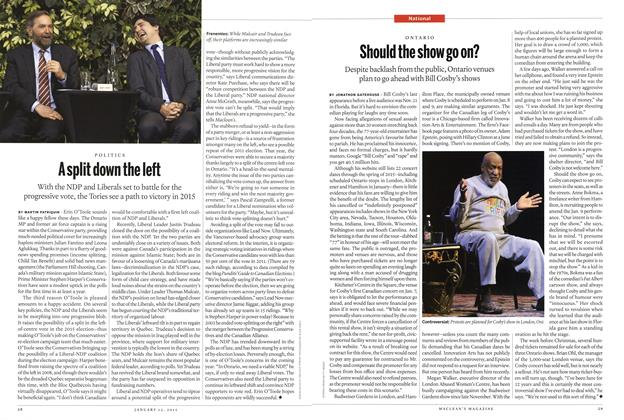 Article Preview: Should the show go on?, January 2015 | Maclean's