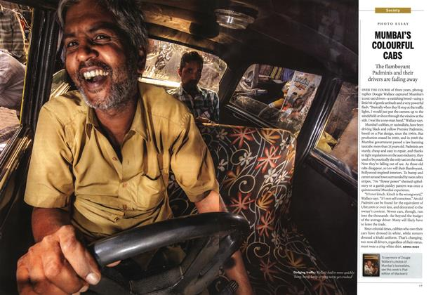 Article Preview: MUMBAI'S COLOURFUL CABS, January 2015 | Maclean's