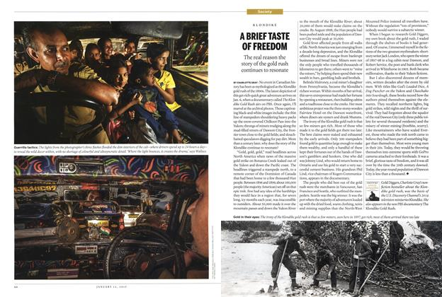Article Preview: A BRIEF TASTE OF FREEDOM, January 2015 | Maclean's