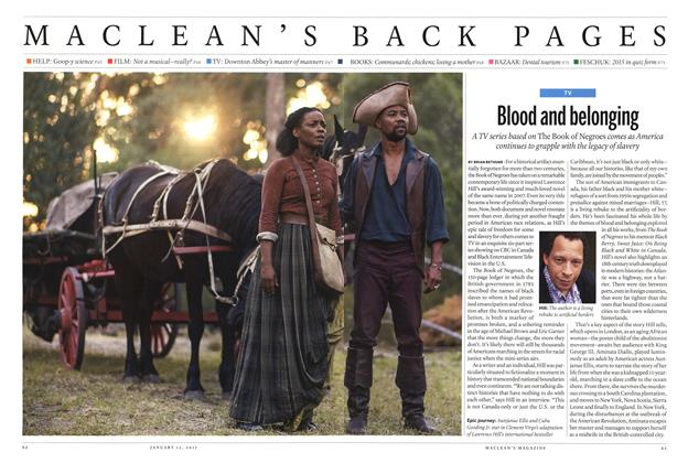 Article Preview: Blood and belonging], January 2015 | Maclean's