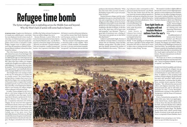 Article Preview: Refugee time bemb, January 2015 | Maclean's
