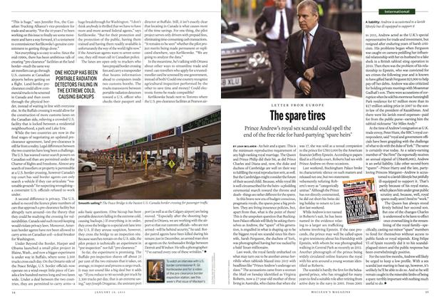 Article Preview: The spare tires, January 2015 | Maclean's