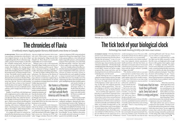 Article Preview: The chronicles of Flavia, January 2015   Maclean's