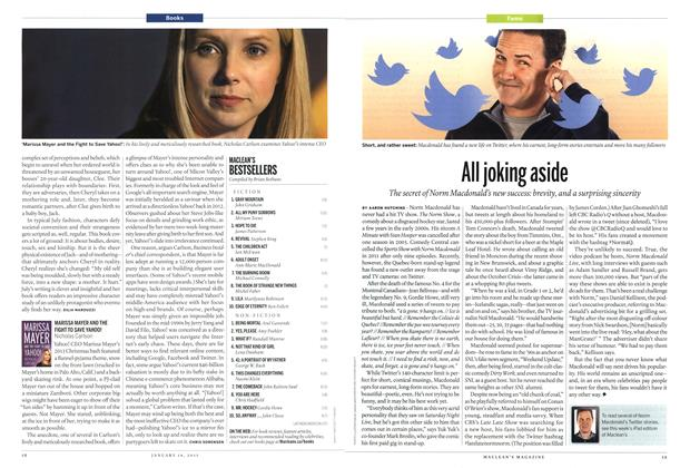 Article Preview: All joking aside, January 2015 | Maclean's