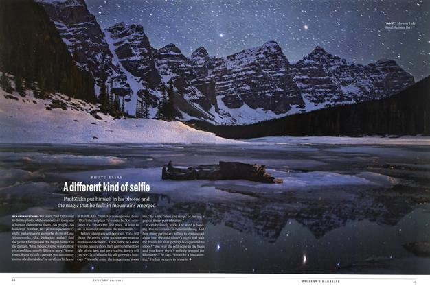 Article Preview: A different kind of selfie, January 2015 | Maclean's