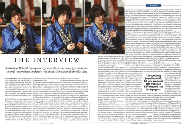 Article Preview: THE INTERVIEW, January 2015 | Maclean's