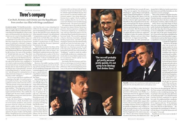 Article Preview: Three's company, February 2015 | Maclean's