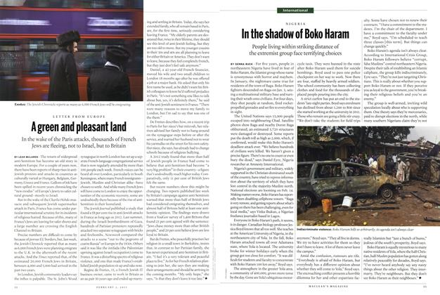 Article Preview: In the shadow of Boko Haram, February 2015 | Maclean's