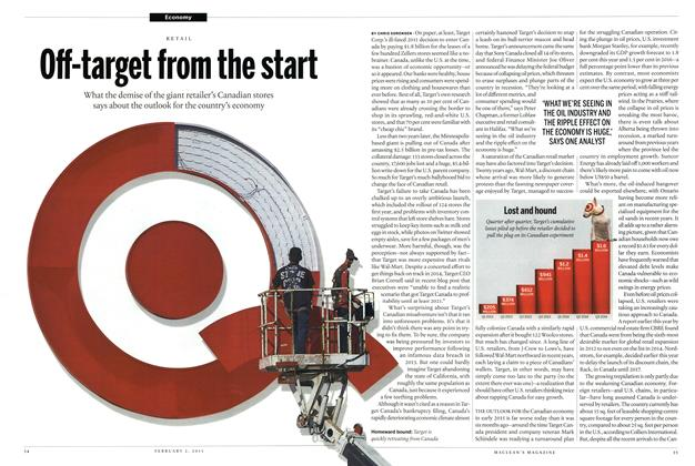 Article Preview: Off-target from the start, February 2015 | Maclean's