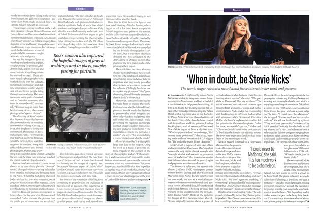 Article Preview: 'When in doubt, be Stevie Nicks', February 2015 | Maclean's