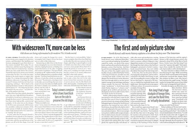 Article Preview: The first and only picture show, February 2015 | Maclean's