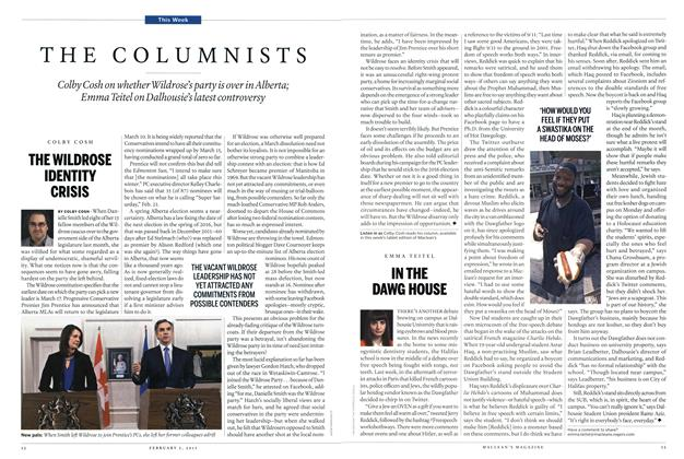 Article Preview: THE COLUMNISTS, February 2015 | Maclean's