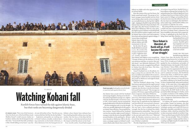 Article Preview: Watching Kobani fall, February 2015 | Maclean's