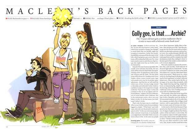 Article Preview: Golly gee, is that... Archie?, February 2015 | Maclean's