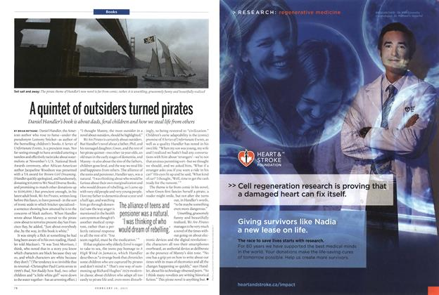 Article Preview: A quintet of outsiders turned pirates, February 2015 | Maclean's