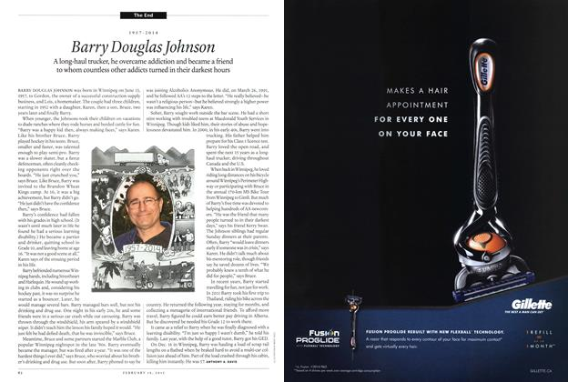 Article Preview: Barry Douglas Johnson, February 2015   Maclean's