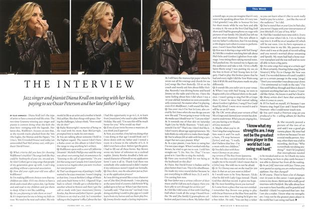 Article Preview: THE INTERVIEW, February 2015 | Maclean's