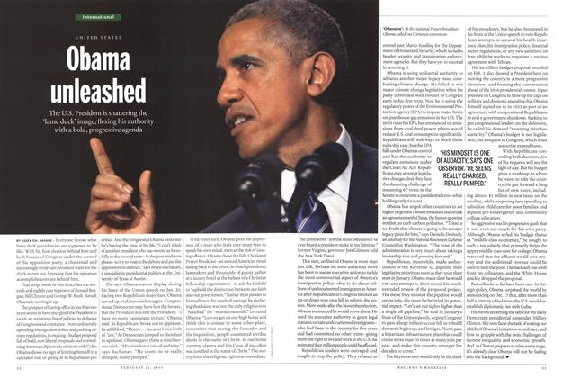 Article Preview: Obama unleashed, February 2015 | Maclean's