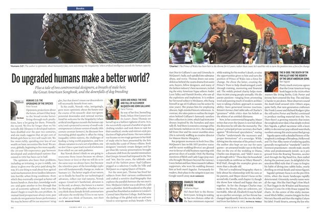 Article Preview: Do upgraded humans make a better world?, February 2015 | Maclean's