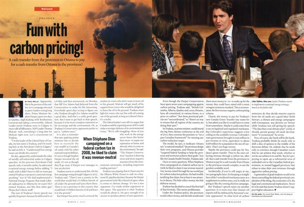 Article Preview: Fun with carbon pricing!, March 2015 | Maclean's
