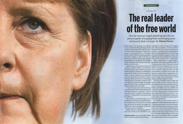Article Preview: The real leader of the free world, March 2015 | Maclean's