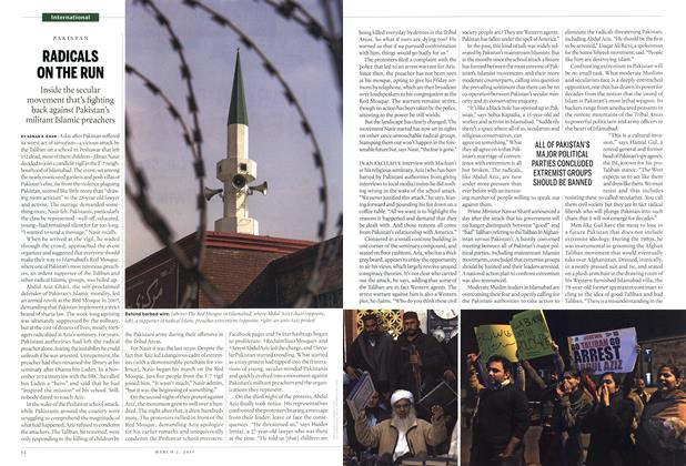 Article Preview: RADICALS ON THE RUN, March 2015 | Maclean's